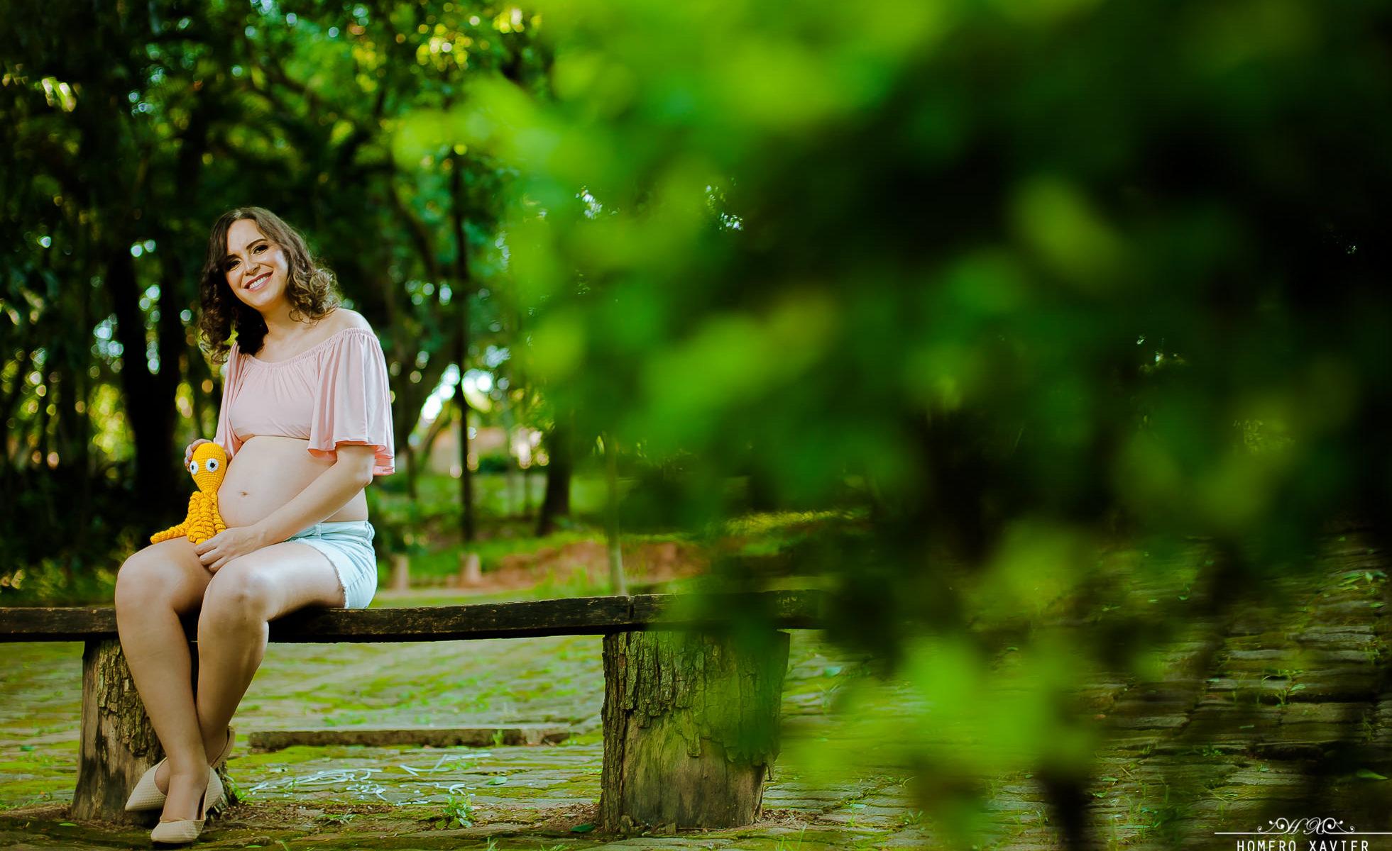 book gravida em parque em BH